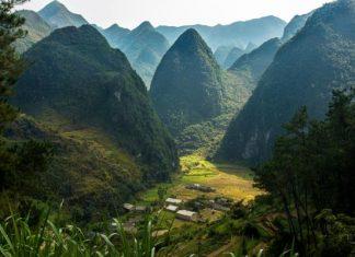 plateau calcaire du Nord Vietnam