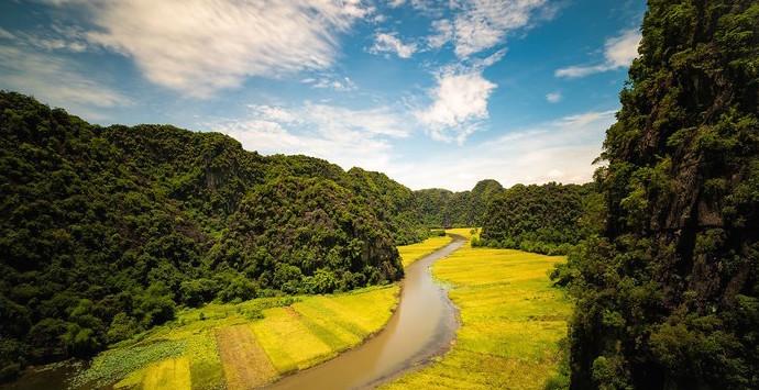 Tam Coc Baie d'halong terrestre 2