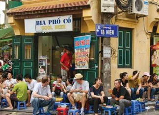 Bierre pression au Vietnam