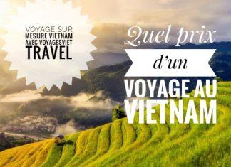 Prix d'un voyage au Vietnam