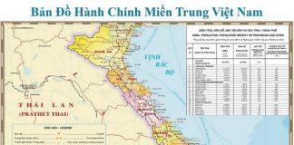 Carte Vietnam du Centre