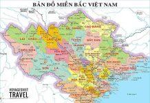 Carte Vietnam Nord