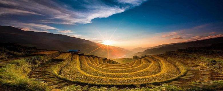 Oùvisiter les rizières en terrasses au Vietnam 2